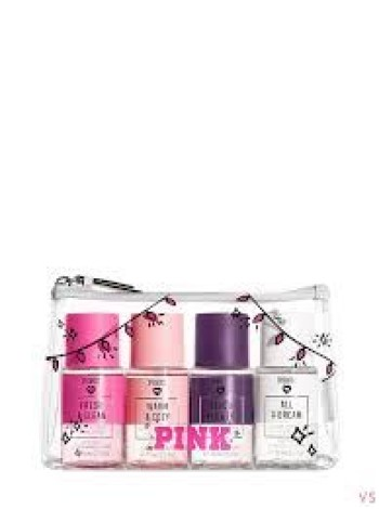 Подарочный набор Scents Pink Mini Mist - Victoria's Secret