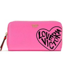 КОШЕЛЕК VS LOVE VICTORIA ZIP WALLET VICTORIA'S SECRET