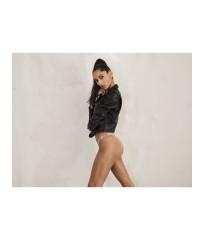 Трусики Victoria's Secret Very Sexy Crystal Logo Shine Strap Brazilian Panty Rose Tan