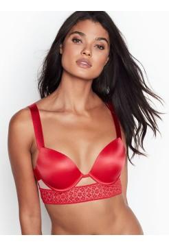 Бюстгальтер Victoria's Secret Very Sexy Bra - Smooth Banded Bright Cherry