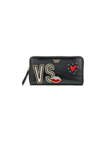 КОШЕЛЕК VS PATCH ZIP WALLET VICTORIA'S SECRET