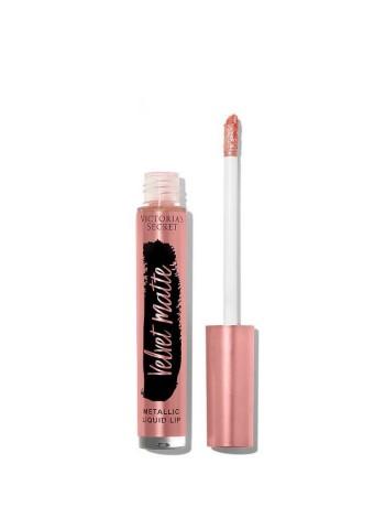 БЛЕСК ДЛЯ ГУБ Victoria's Secret - Кремовая помада - Velvet Matte FLASH - Metallic liquid lip
