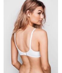 Бюстгальтер Victoria's Secret Logo Bra Lightly Lined White