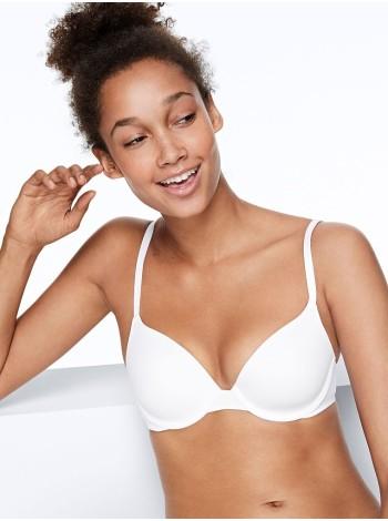 Бюстгальтер Victoria's Secret PINK - Lightly lined WHITE