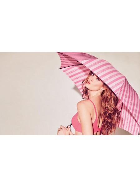 ЗОНТИК PINK STRIPES Victoria's Secret