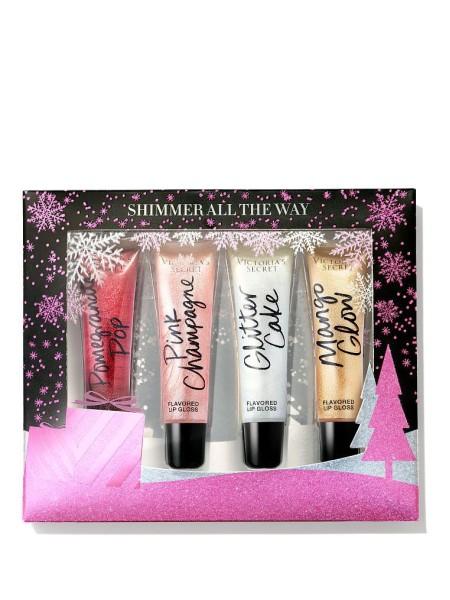 Подарочный набор Shimmer Lip Gloss Gift Set - Victoria's Secret