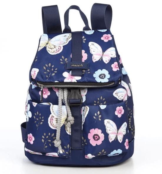 яркие тканевые женские рюкзаки